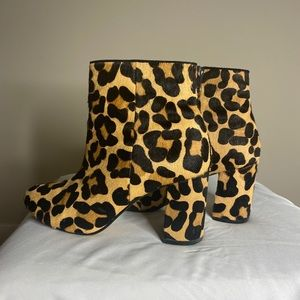 Shoes - Town Shoes Cheetah Print Booties
